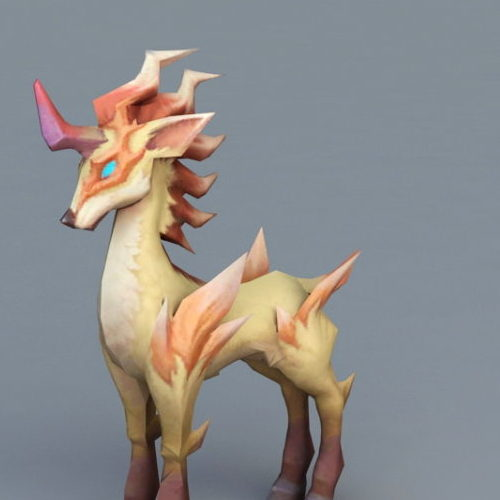 Game Anime Unicorn Animal