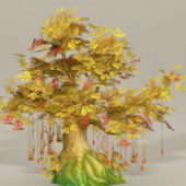 Anime Nature Wishing Tree