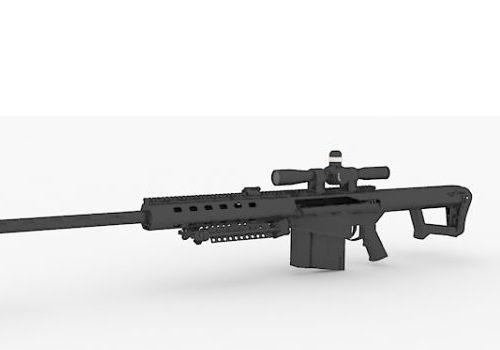 Military Anti-materiel Rifle Gun