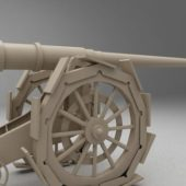 Antique Cannon Weapon