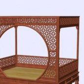 Antique Furniture Chinese Bed
