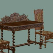 Antique Furniture Chinese Table Chairs