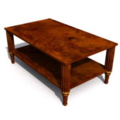 Living Room Antique Coffee Table