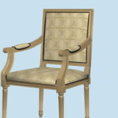 Antique Furniture French Accent Chair