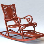 Home Furniture Antique Rocking Chair