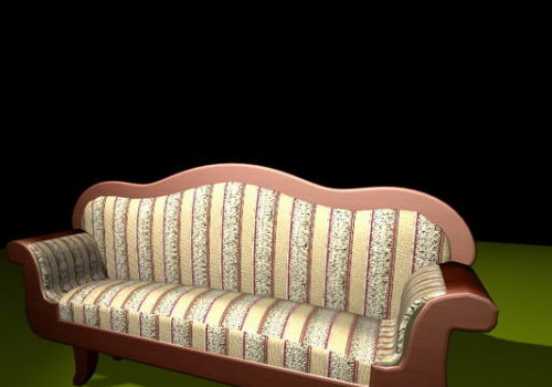 Home Furniture Antique Victorian Settee
