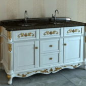 Bathroom Furniture Antique Vanity
