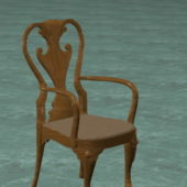 Antique Furniture Carved Wood Chair