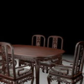 Wooden Carved Furniture Dining Room