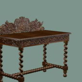 Antique Furniture Console Table