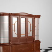 Antique Furniture Display Cabinet
