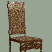 Furniture Antique Carved Chair