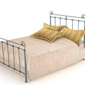 Bedroom Antique Iron Bed