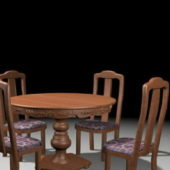 Antique Furniture Round Dinette Sets