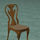 Furniture Antique Wood Carved Chair