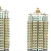 City Apartment Block Community
