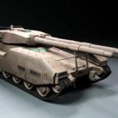 Sci-fi Apocalypse War Tank