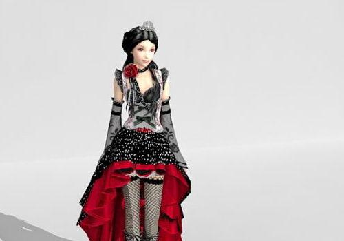 Aristocratic Girl Character