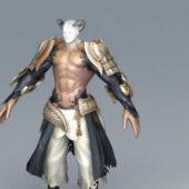 Character Demon Man