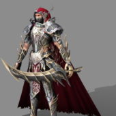 Armored Assassin Character
