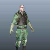 Us Army Soldier Character