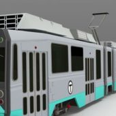 Vehicle Articulated Tram