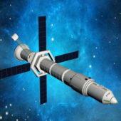 Artificial Space Satellite