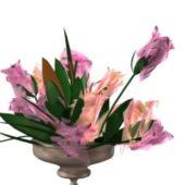 Garden Artificial Flowers Vase