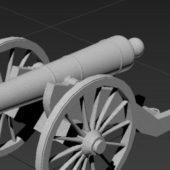 Military Artillery Cannon