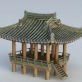 Ancient Asian Gazebo