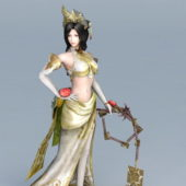 Asian Game Character Warrior Woman