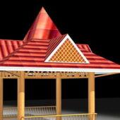 Thai Style Gazebo Architecture