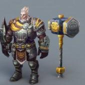 Viking Warrior Game Character