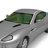 Silver Aston Martin Dbs Car