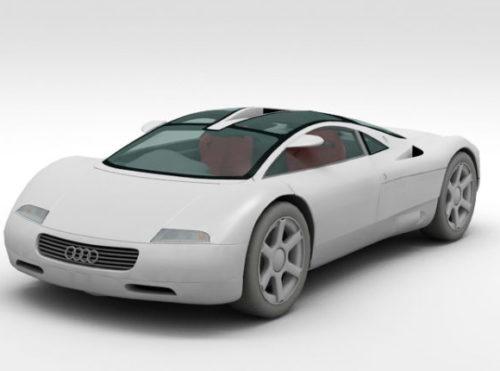 Car Audi Avus Quattro