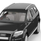 Black Audi Q7 Suv