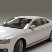 Car Audi S5 Coupe White Paint