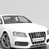 White Audi S5 Grand Tourer Car