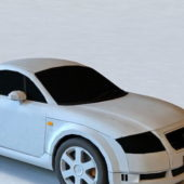 White Audi Tt Coupe Car