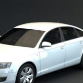 White Audi V8 Quattro Car