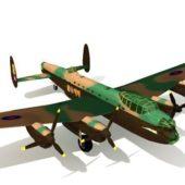 Army Avro Lancaster Bomber Aircraft