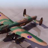 Military Aircraft Avro Lancaster Heavy Bomber