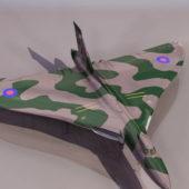 Avro Vulcan Military Bomber Aircraft