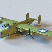 Army B-24 Liberator Bomber Aircraft
