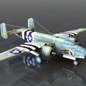 B25 Bomber Aircraft