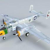 B25 Mitchell Bomber Aircraft