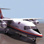 Bae 146 Commercial Airliner