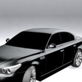 Bmw 5 Series Sedan Car Vehicle