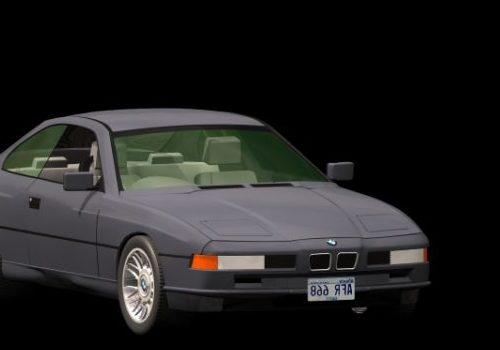 Vintage Bmw 850i 2-door Coupe Car