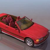 Bmw Car E30 2-door Convertible